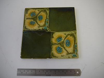 ceramic building material/tile